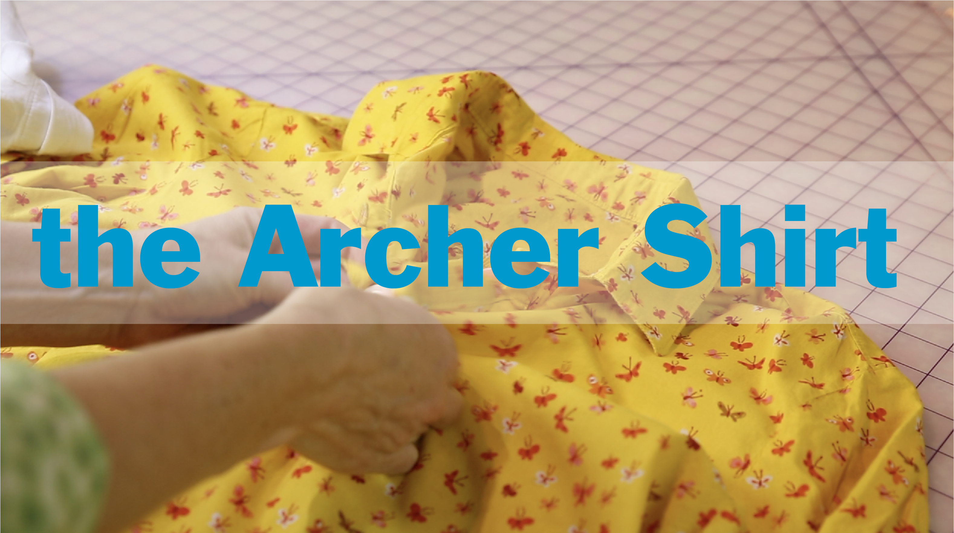 Archer Shirt sewalong