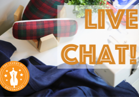 Live Chat title card League of Dressmakers